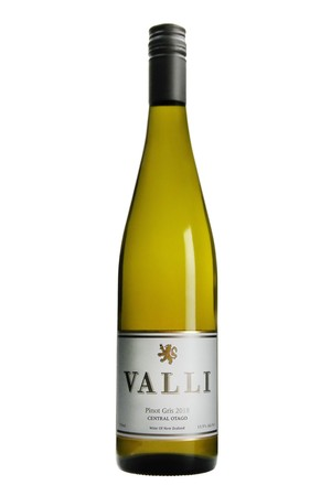 2018 Valli Gibbston Vineyard Pinot Gris